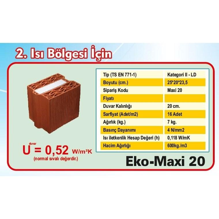 20 cm Maxi Brick - 1