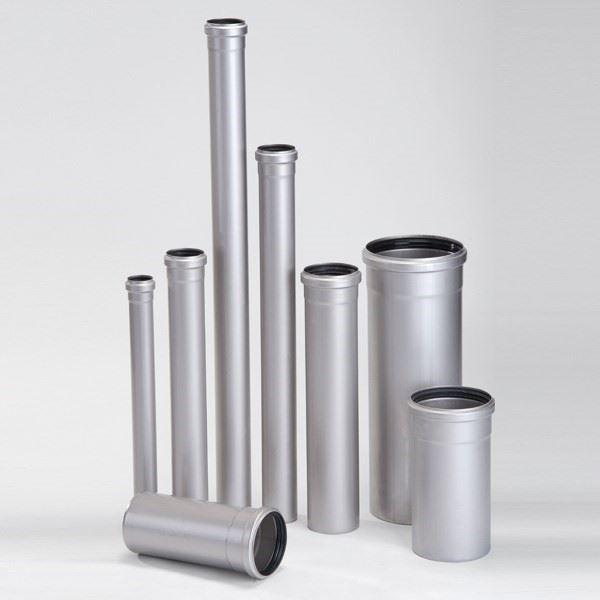 Paslanmaz Çelik Soketli Boru Sistemi/ACO Pipe