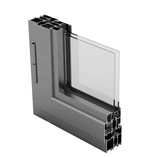 Aluminium Window Systems/WD 55 THERMO