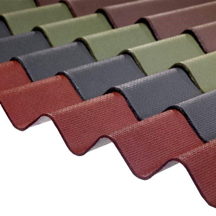 Bituminous Corrugated Roof Coverings - 0