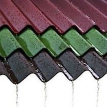 Bituminous Corrugated Roof Coverings