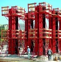Shear Wall - Column Formwork | REVOLA Adjustable Column Formwork System