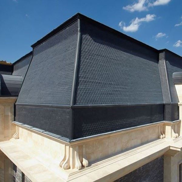 Titanium Zinc Flake Coated Roof and Facade Systems