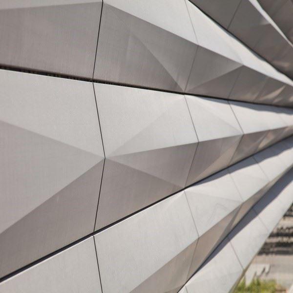 Titanium Zinc Composite Facade Cladding