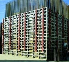 Shear Wall - Column Formwork | LOGICA Framed Shear Wall Formwork System