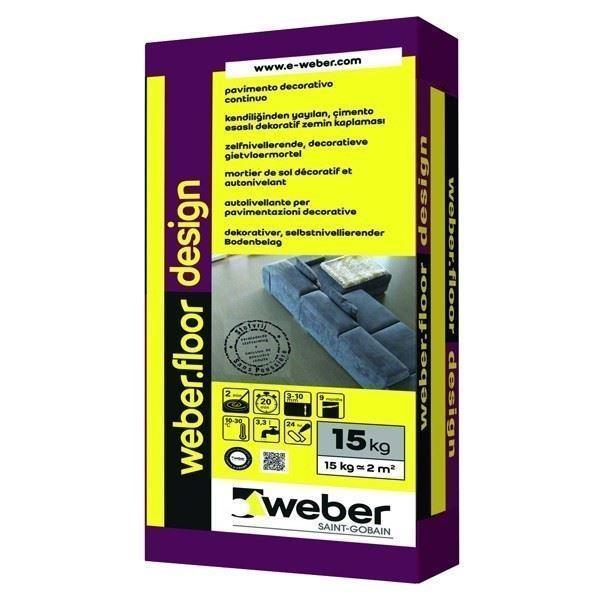 Çimento Esaslı Dekoratif Zemin Kaplaması/weber.floor design