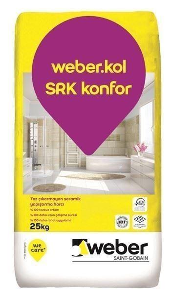 Seramik Yapıştırma Harcı/weber.kol SRK konfor