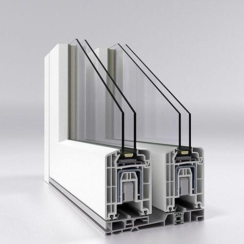 Contalı PVC Sürme Sistemi/Hebeschiebe 76