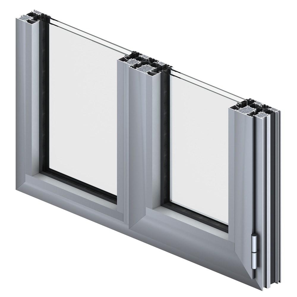 Alüminyum Kapı ve Pencere Sistemleri | ST 80 S - 0
