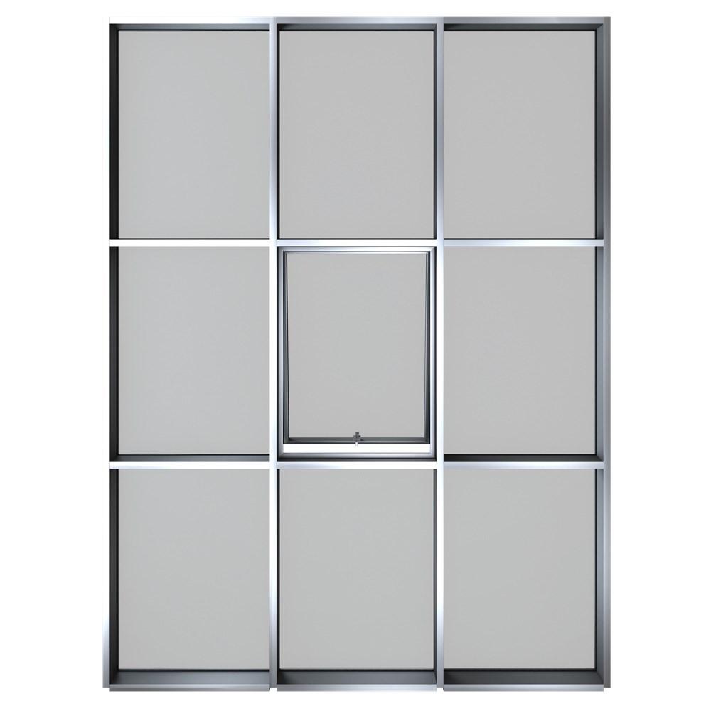 Aluminum Curtain Wall Systems | MN 50 - 0