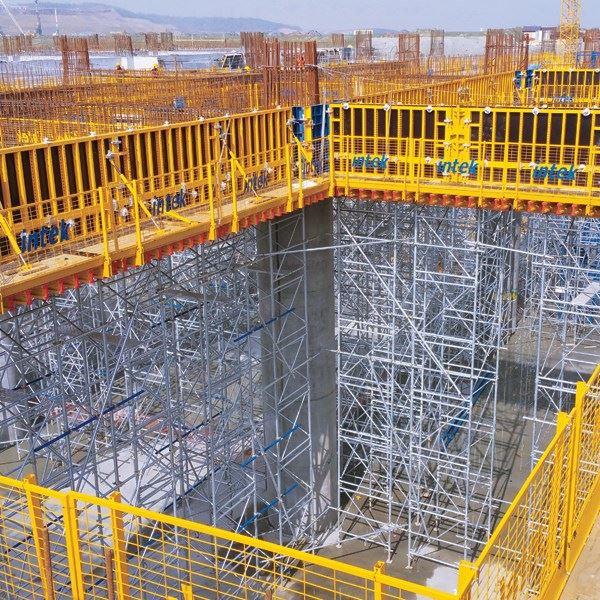 PANEMAX Steel-Framed Crane-Carried Panel Formwork - 0