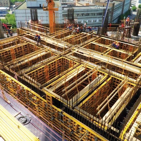 İntek Kalıp İskele PANEMAX Steel-Framed Crane-Carried Panel