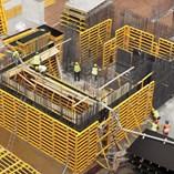 PANEMAX Steel-Framed Crane-Carried Panel Formwork - 1
