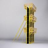 PANEMAX Steel-Framed Crane-Carried Panel Formwork - 2