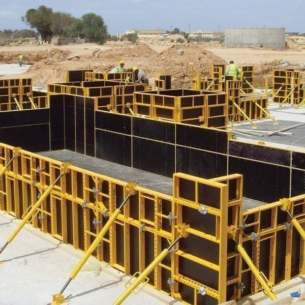 İntek Kalıp İskele PANEX Steel Framed Handheld Panel Formwork