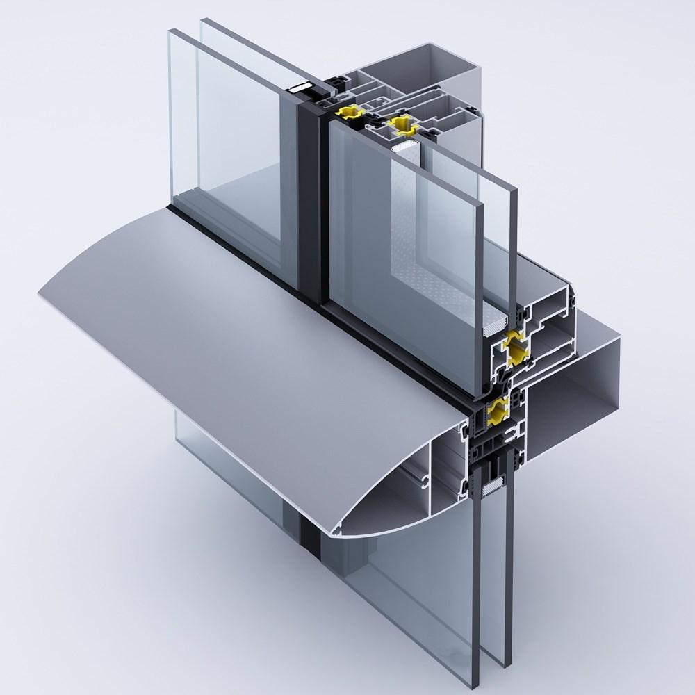 Aluminium Curtain Wall Systems | BG 50