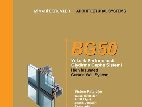 BG 50 Ürün Broşürü