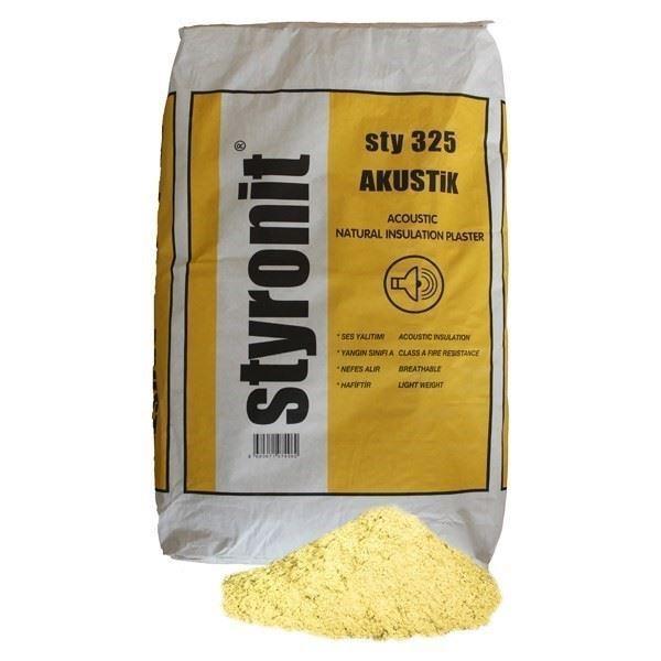 Akustik Yalıtım Sıvası/Styronit Sty 325