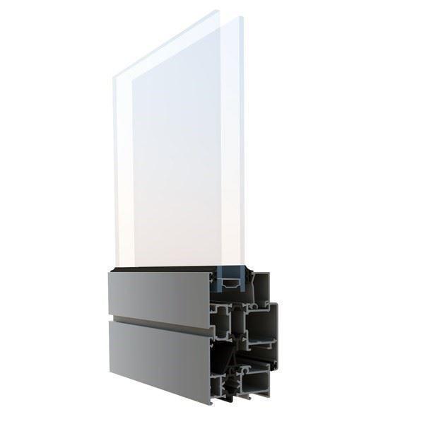 Yalıtımlı Pencere ve Kapı Sistemi/Aluminance W55 Plus