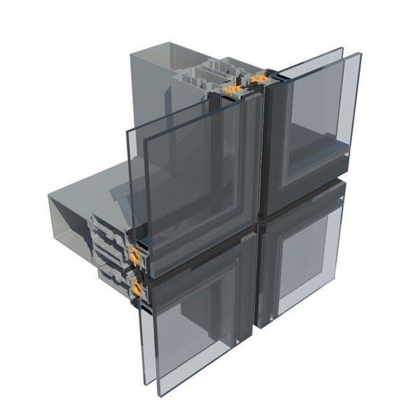 Silikon Cephe  Sistemi/Aluminance F60