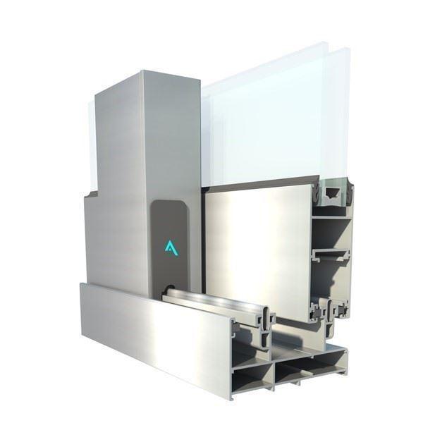 Klasik Yalıtımsız Sürme Sistem/Aluminance S32