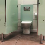 Hardware For Toilet Cubicles and Partitions For Glass - 0