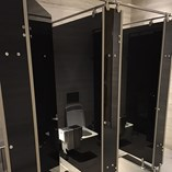 Hardware For Toilet Cubicles and Partitions For Glass - 7
