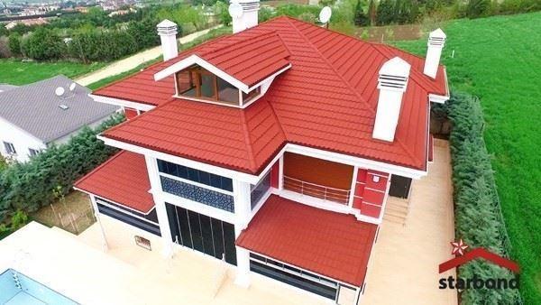 Doğal Taş Kaplı Metal Panel Kiremit ve Çatı Sistemleri
