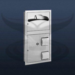 Toilet Seat Cover + WC Paper Holder and Dustbin | ST-0481