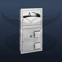 Klozet Kapak + WC Kağıtlık ve Çöp Kovası | ST-0481