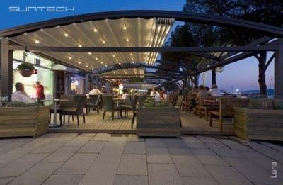 Mimari Açılır Kapanır Pergola ve Tavan Sistemleri-Suntech/Luna