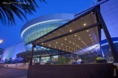 Mimari Açılır Kapanır Pergola ve Tavan Sistemleri-Suntech/Novo