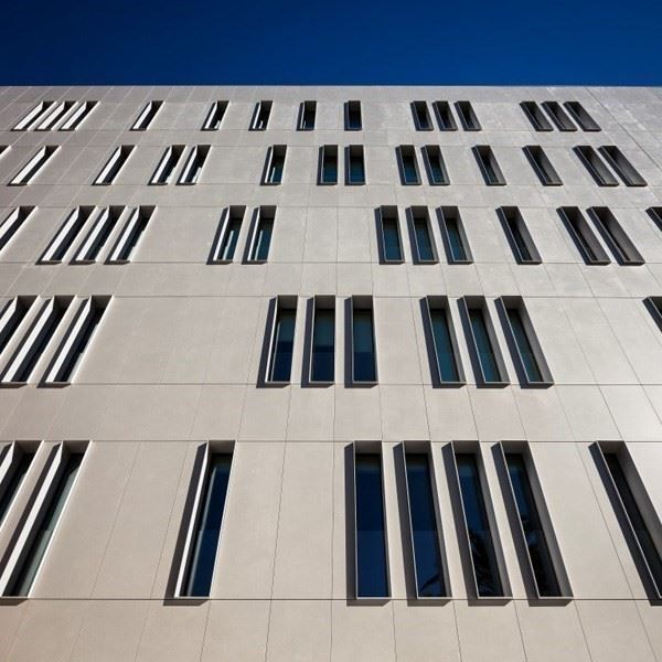 Quartz Based Composite Facade Cladding