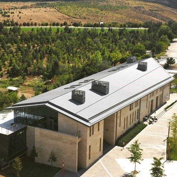 Titanyum ve Bakır Alaşımlı Çinko Çatı Kaplamaları, Yağmur Suyu İndirme Sistemleri