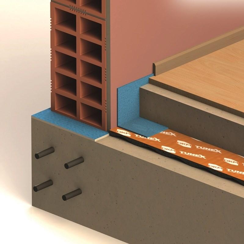 Impact Sound Insulation Membrane / Underlayment - 4