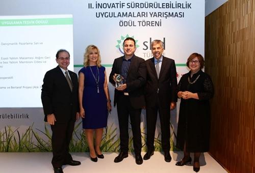 2015 İnovatif Sürdürülebilirlik Uygulamaları Yarışması Teşvik Ödülü