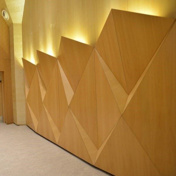 Akustik 3 Boyutlu Duvar Paneli