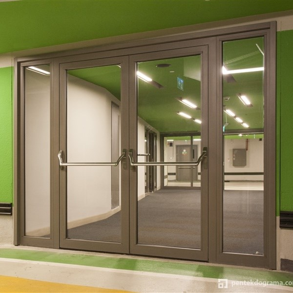 Glass Fire Door and Fire Resistant Glass Partition Wall