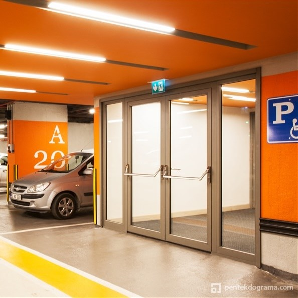 Fire Rated Glazed Doors and Partition Walls - 1