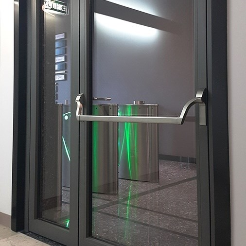 Fire Rated Glazed Doors and Partition Walls - 5