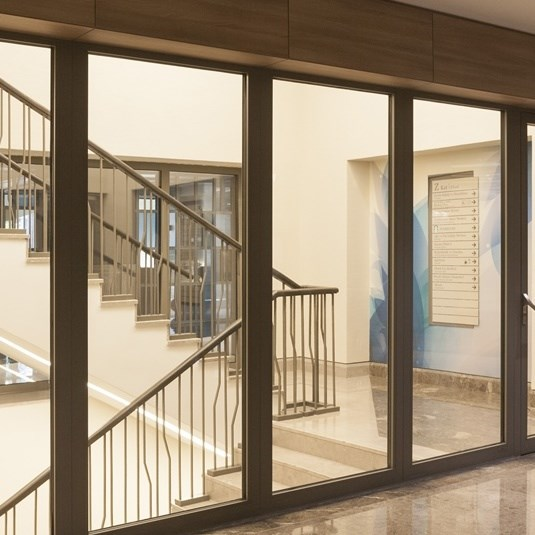 Fire Rated Glazed Doors and Partition Walls - 10