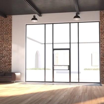 Isı Yalıtımlı İnce Çelik Kapı Sistemi