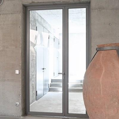 Janisol Steel and Stainless Steel Door - 0