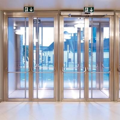 Janisol Steel and Stainless Steel Door - 4