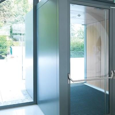 Janisol Steel and Stainless Steel Door - 8