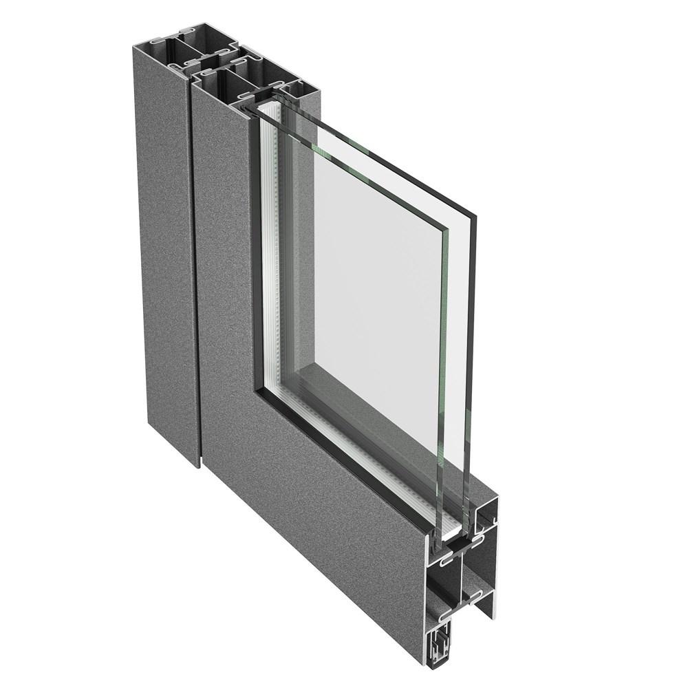 Janisol Steel and Stainless Steel Door - 21