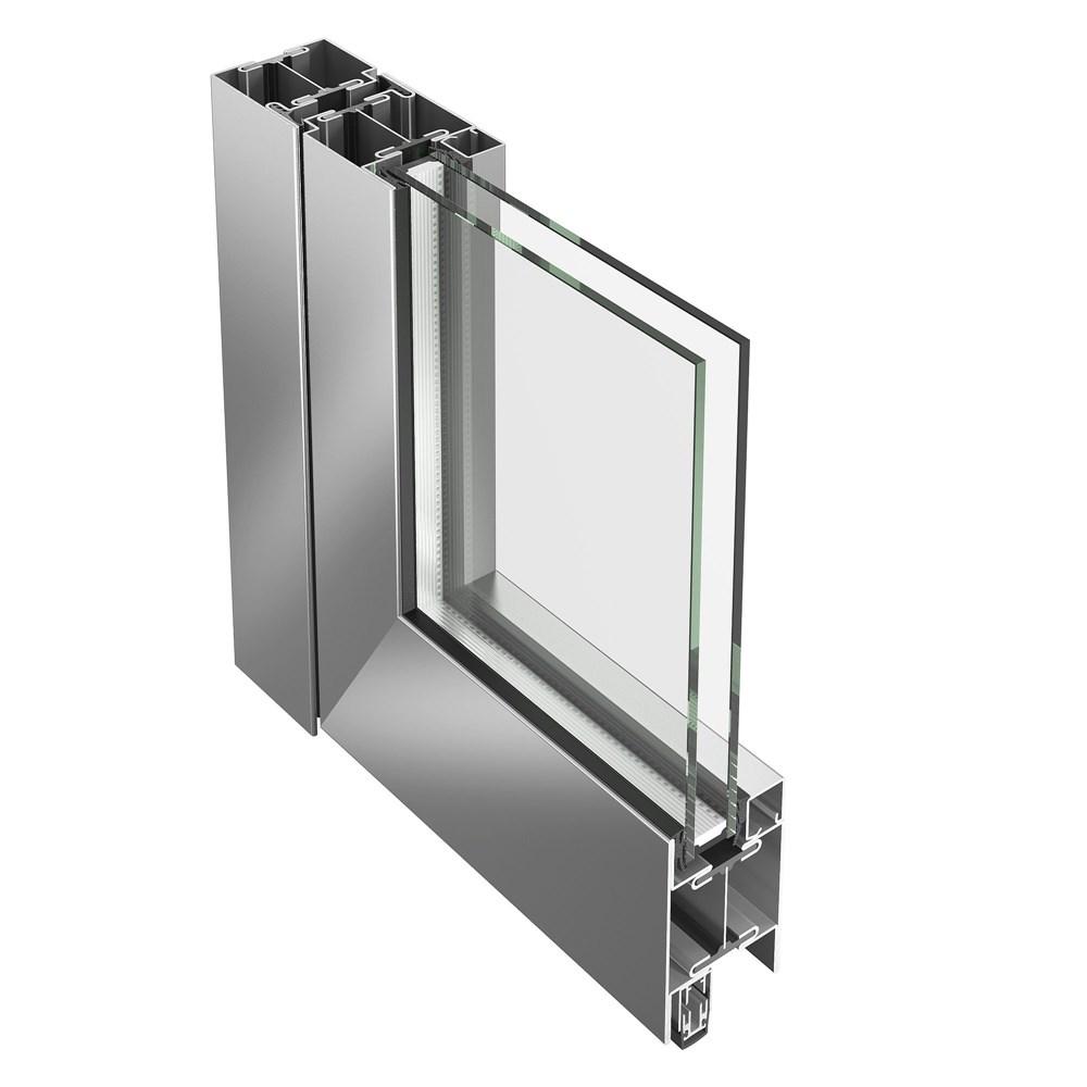 Janisol Steel and Stainless Steel Door - 22