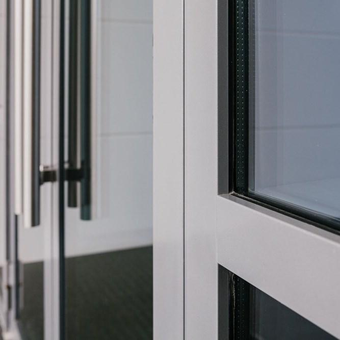 Jansen Economy 50 Steel and Stainless Steel Door - 4