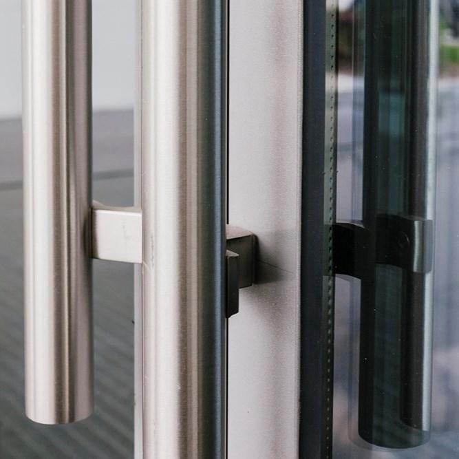 Jansen Economy 50 Steel and Stainless Steel Door - 3