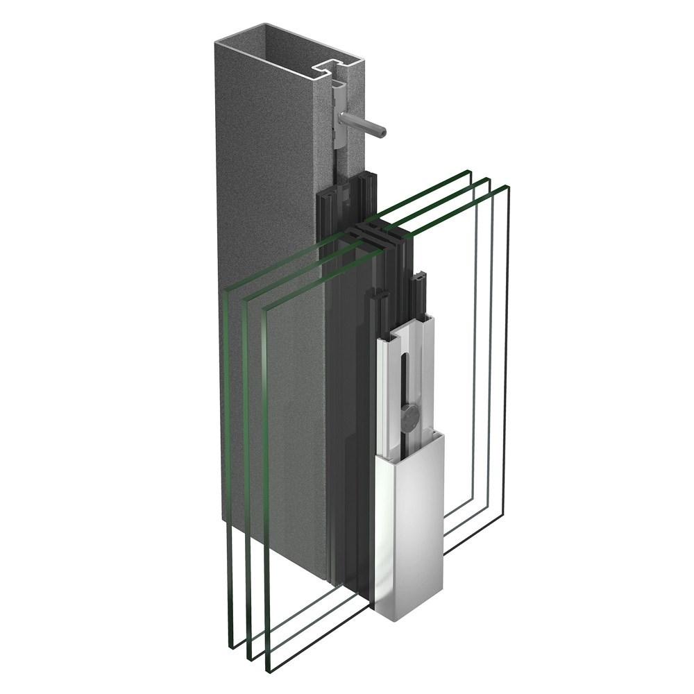 VISS Steel Curtain Wall System - 21
